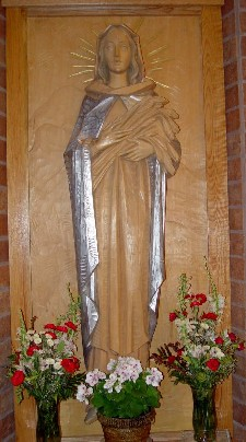 Statue of Our Lady of the Meadows